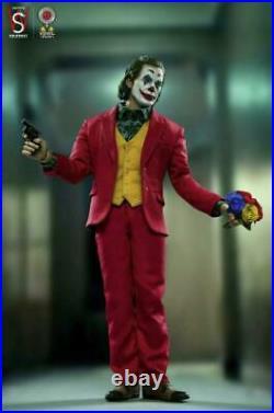 SWTOYS FS027 1/6 scale Joker 12'' Male Figure Joaquin Phoenix Clown