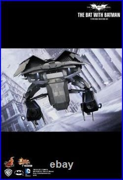 Sideshow Hot Toys 1/12 Scale Dark Knight Rises The Bat with Batman Figure MMSC001