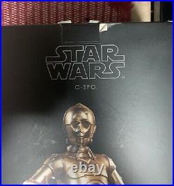 Sideshow Star Wars C-3PO 1/6 Scale Hot Toys Disney
