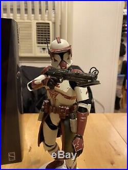 Sideshow Star Wars Commander Fox 1/6 Scale Figure Clone Trooper
