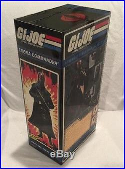 Sideshow Toys Limited Edition GI Joe 1/6 Scale COBRA COMMANDER 12 Figure NEW