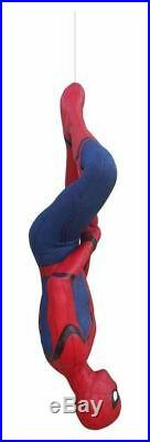 Spider Man Hanging From Home Coming Life Size Statue 11 Scale Figure