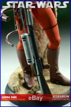 Star Wars Sideshow Aurra Sing 1/4 Scale Premium Format Figure Statue