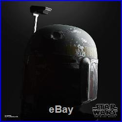 Star Wars The Black Series Boba Fett Premium Electronic Helmet Full-Scale