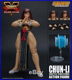 Street Fighter HOT CHUN-LI (BATTLE DRESS VERSION) 1/12 SCALE ACTION FIGURE