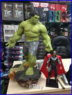 Super Giant Size Marvel The Hulk Green Giant Figure Statue 25 1/4 Scale New