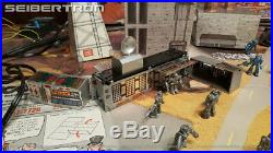 TYCO Transformers ELECTRIC TRAIN AND BATTLE SET near complete G1 1985 HO-scale