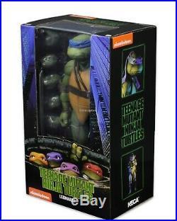Teenage Mutant Ninja Turtles 1/4 Scale Action Figure Leonardo NECA