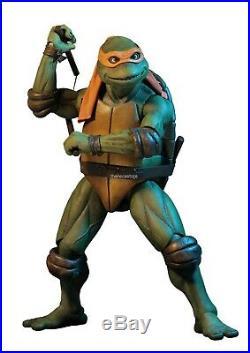 Teenage Mutant Ninja Turtles 1/4 Scale Action Figure Michelangelo NECA