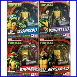 Teenage Mutant Ninja Turtles TMNT 6 Action Figure 112 Scale Collection NIB
