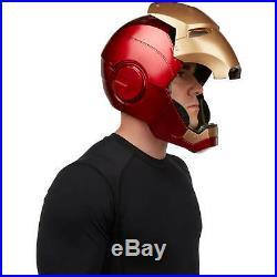 The Avengers Marvel Legends Iron Man Electronic Helmet Full-Scale Ship on 11/30