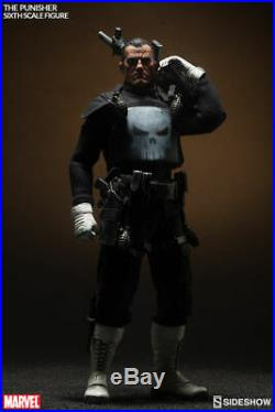 The Punisher 1/6 Scale Figure Sideshow Collectibles Frank Castle Marvel New 12