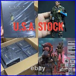 U. S. Stock! LIM TOYS 1/12 The Phantom Legend Old Snake 1/12 Scale Male Snake S++