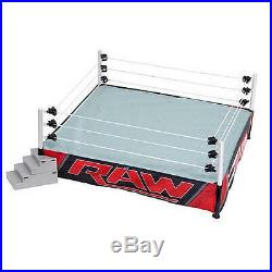 WWE Authentic Scale Ring RAW Edition WWF Action Figures Play