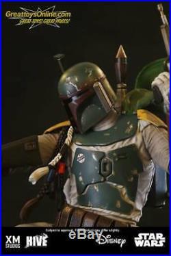 XM Studios Star Wars Boba Fett 1/4 Scale Statue 0797776190515 Sealed New